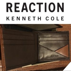 NWT - Anti theft wallet - Reaction Kenneth Cole